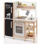 Sun 04139 Kinderkche Mit Tafel Aus Holz Khl Gefrierkombination Kinder Spielküche Wohnzimmer Spielküche