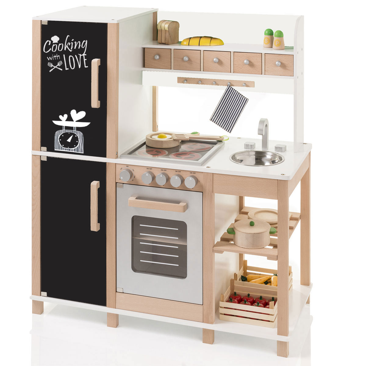 Full Size of Sun 04139 Kinderkche Mit Tafel Aus Holz Khl Gefrierkombination Kinder Spielküche Wohnzimmer Spielküche