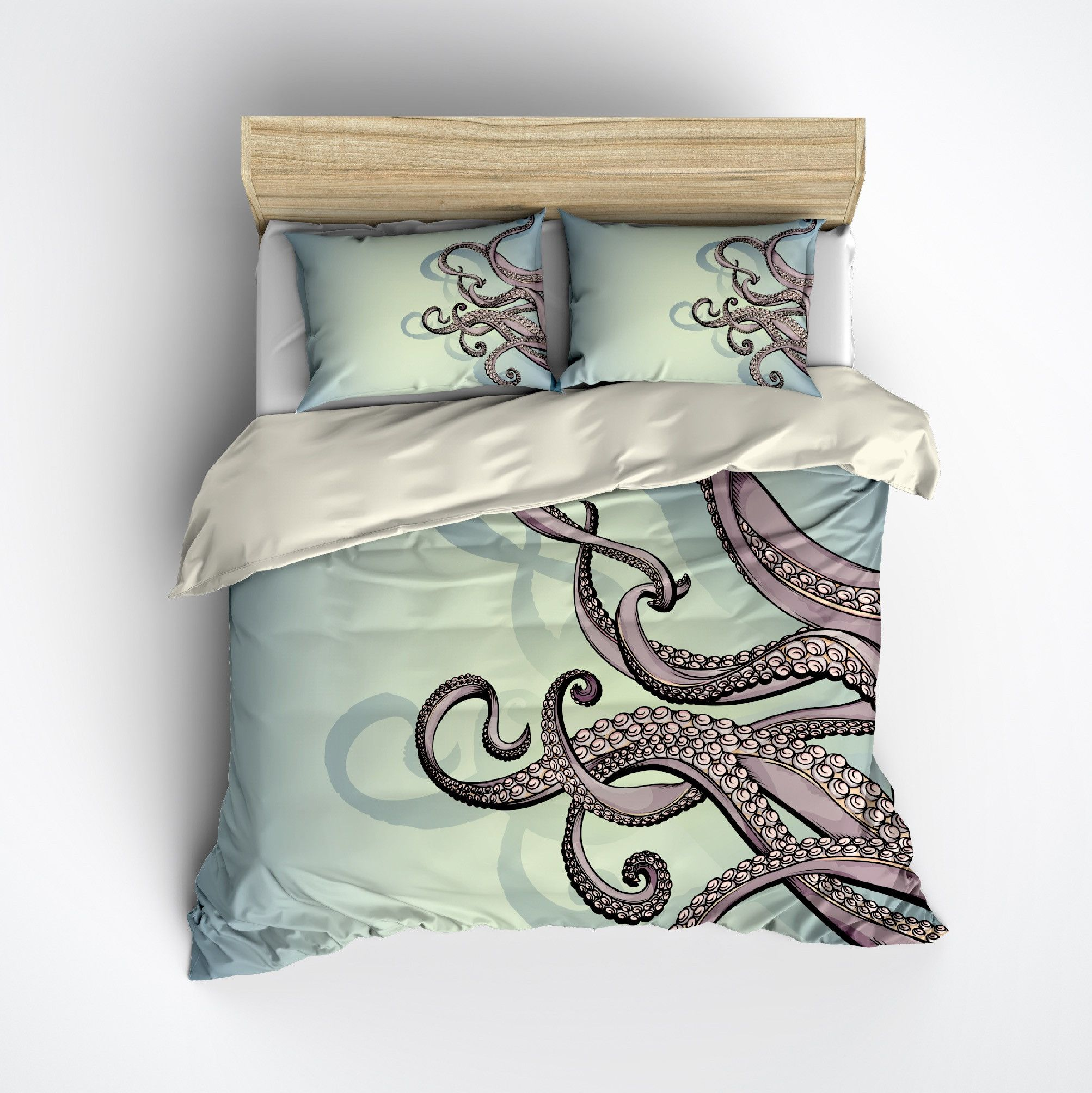 Full Size of Octopus Betten Purple Tentacle Bedding Cream Federbetten Massivholz Jensen Team 7 De Luxus Landhausstil Joop Boxspring Amazon Französische Billige Test Aus Wohnzimmer Octopus Betten