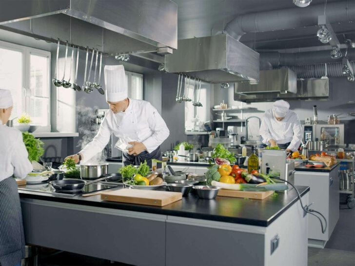 Medium Size of Küchenabluft Entlftung In Gastronomie Wohnzimmer Küchenabluft
