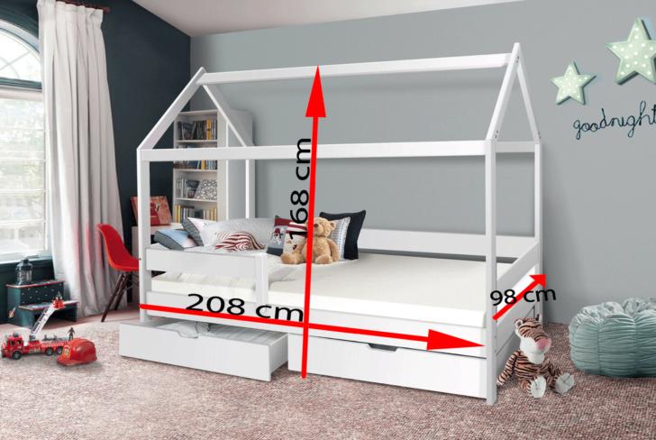 Medium Size of Bett 90x200 Weiß Mit Schubladen Weißes Kiefer Bettkasten Betten Lattenrost Und Matratze Wohnzimmer Jugendbett 90x200