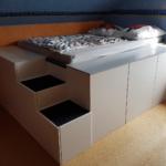 Halbhohes Bett Ikea Wohnzimmer Halbhohes Bett Mit Rutsche Ikea Schreibtisch Aus Kchenschrnken Homematic Integration Smart Wohnen Lattenrost 160x220 Tempur Betten 200x200 1 40 160x200