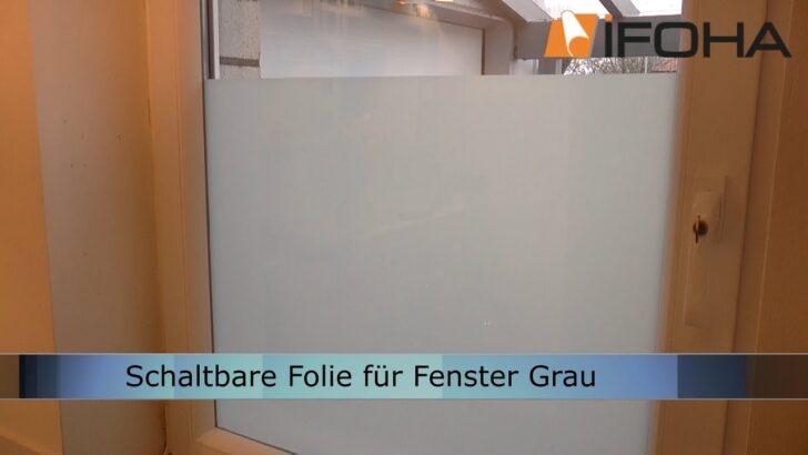 Medium Size of Mit Schaltbare Folie Elektrische Milchglasscheibe Selber Machen Wohnzimmer Fensterfolie Blickdicht