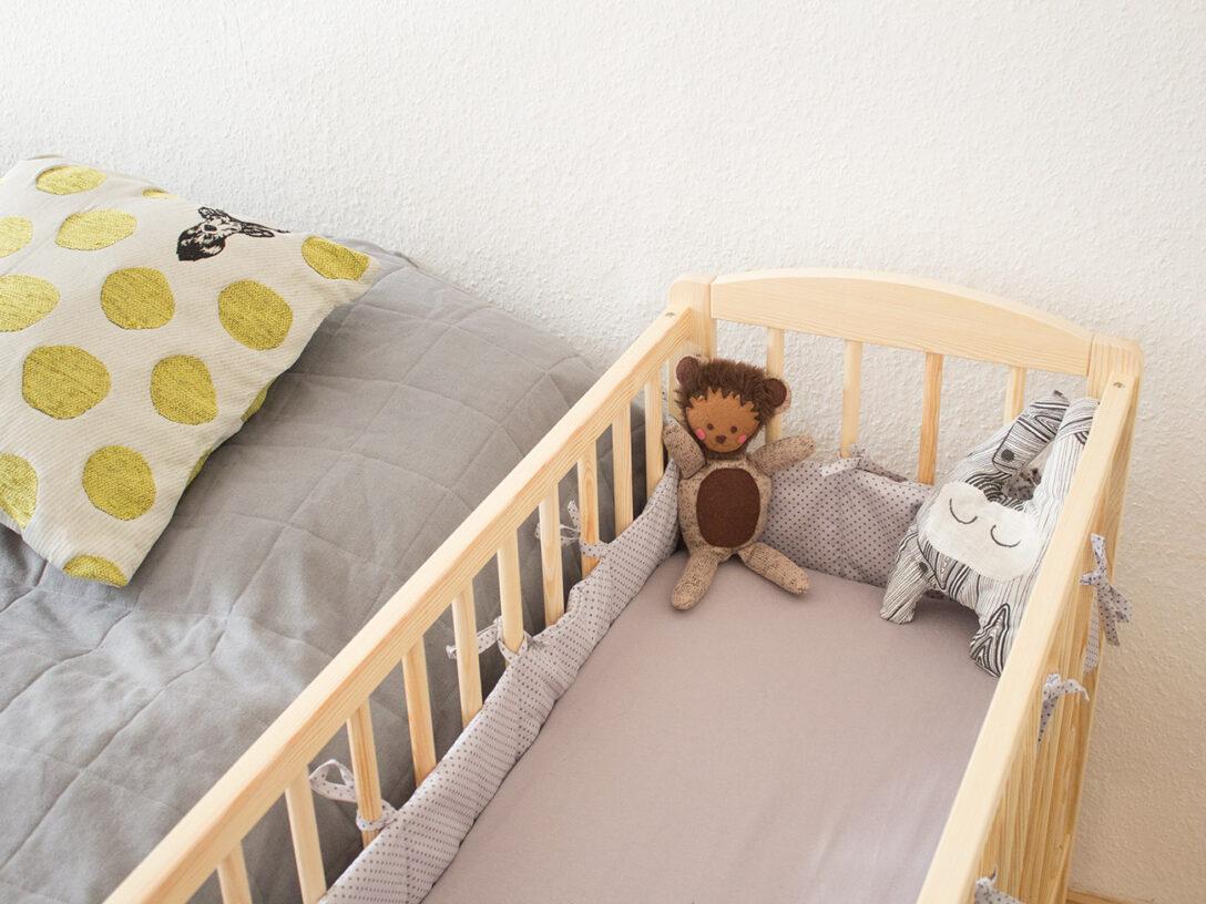 Large Size of Kinderbett Diy Kostenlose Nhanleitung Bettnestchen Bettlaken Frs Babybett Wohnzimmer Kinderbett Diy