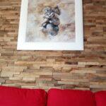 Holzpaneele Harmony Natur Aus Eichenholz Als Wandgestaltung Natura Sofa Indirekte Beleuchtung Wohnzimmer Heizkörper Bilder Modern Vorhänge Kamin Stehleuchte Wohnzimmer Bilder Wohnzimmer Natur