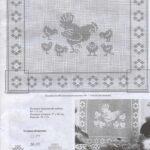 Küchegardinen Häkeln Anleitung Window Crochet Chicken Kitchen Grandma Mit Bildern Hkeln Wohnzimmer Küchegardinen Häkeln Anleitung