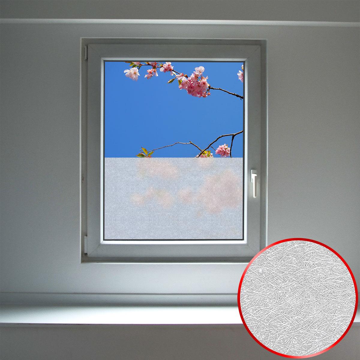 Full Size of Fensterfolie Blickdicht Sichtschutz 90x200 Cm Milchglasfolie Wohnzimmer Fensterfolie Blickdicht