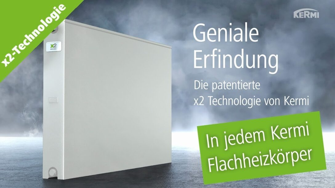 Large Size of Kermi Flachheizkörper Flachheizkrper Therm X2 Technologie Erfinder Youtube Wohnzimmer Kermi Flachheizkörper