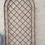 Sichtschutz Metall Rost Rankgitter Spalier Wand Rankhilfe Provence Sichtschutzfolien Für Fenster Bett 140x200 Mit Matratze Und Lattenrost 160x200 Garten Wohnzimmer Sichtschutz Metall Rost