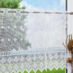 Scheibengardinen Landhausstil Klassisch Modern Bistrogardinen Im Küche Bett Esstisch Sofa Schlafzimmer Weiß Wohnzimmer Boxspring Bad Regal Betten Wohnzimmer Scheibengardinen Landhausstil