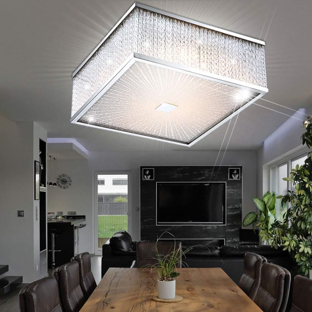 Full Size of Wohnzimmer Deckenleuchte Led Einzigartig 7 6 Watt Gardine Sofa Grau Leder Panel Küche Decken Deckenlampen Fototapete Deckenlampe Kunstleder Weiß Mit Wohnzimmer Wohnzimmer Deckenlampe Led