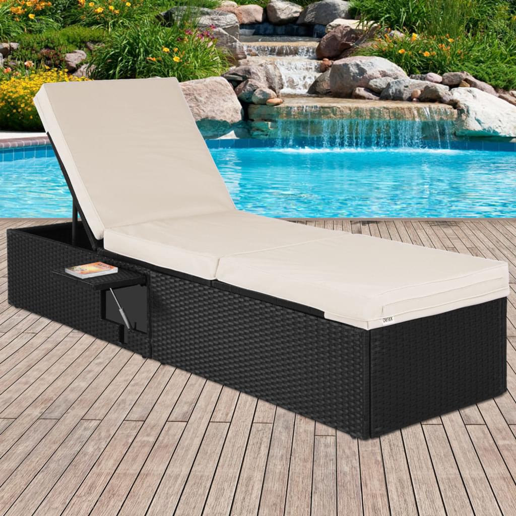 Full Size of Sonnenliege Rattan Grau Klappbar Lidl Casaria Poly 5 Fach Verstellbare Real Polyrattan Sofa Ausklappbares Bett Ausklappbar Rattanmöbel Garten Wohnzimmer Sonnenliege Rattan Klappbar