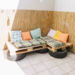 Couch Terrasse Balkon So Baust Du Eine Aus Europaletten Und Wohnzimmer Couch Terrasse
