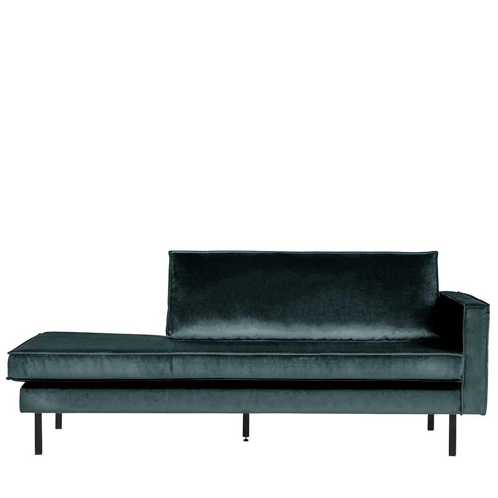 Full Size of Recamiere Samt Sofa Mit Wohnzimmer Recamiere Samt