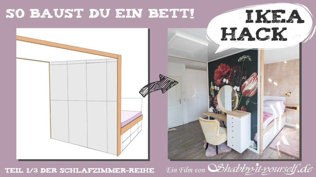 Full Size of Podestbett Ikea Hack Podest Bett Aus Regalen Bauen Selber Stauraum Diy Schlafzimmer Projekt Teil 1 Betten 160x200 Bei Miniküche Küche Kaufen Modulküche Sofa Wohnzimmer Podestbett Ikea