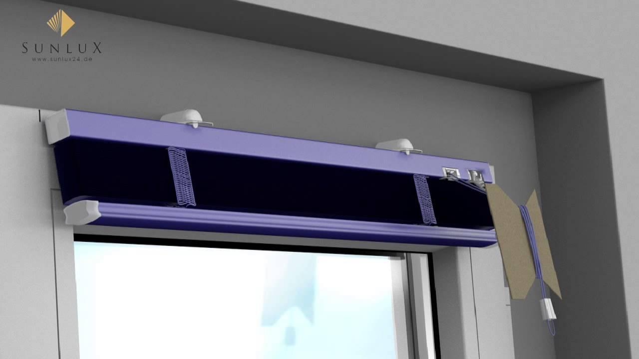 Full Size of Jalousien Ikea Animation Jalousie Montage Auf Dem Rahmen Mittels Klemmtrger Küche Kosten Fenster Innen Miniküche Betten 160x200 Bei Kaufen Sofa Mit Wohnzimmer Jalousien Ikea