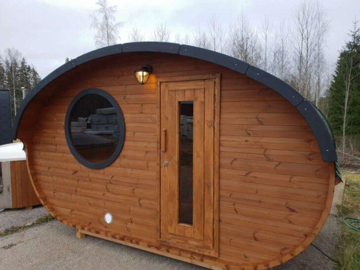 Medium Size of Gartensauna Bausatz Fasssauna Deluxe 400 Oval Sauna Fder Oberklasse Wohnzimmer Gartensauna Bausatz