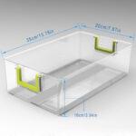 Küchen Aufbewahrungsbehälter 3er Set Kchen Khlschrank Boaufbewahrungsbehlter Küche Regal Wohnzimmer Küchen Aufbewahrungsbehälter