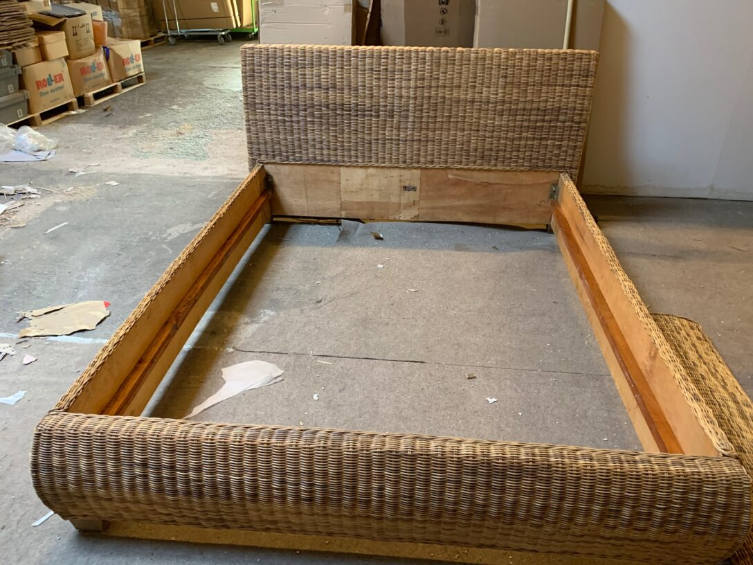 Large Size of Rattanbett Ikea Sundnes Bett Neupreis 180x200 140x200 Melbu 160x200 Anleitung Doppelbett 140 200 Cm B Ware 40106 Ebay Küche Kaufen Betten Modulküche Wohnzimmer Rattanbett Ikea
