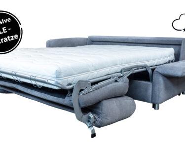 Schlafsofa 200x200 Wohnzimmer Bett 200x200 Komforthöhe Schlafsofa Liegefläche 180x200 Mit Bettkasten Betten Stauraum Weiß 160x200