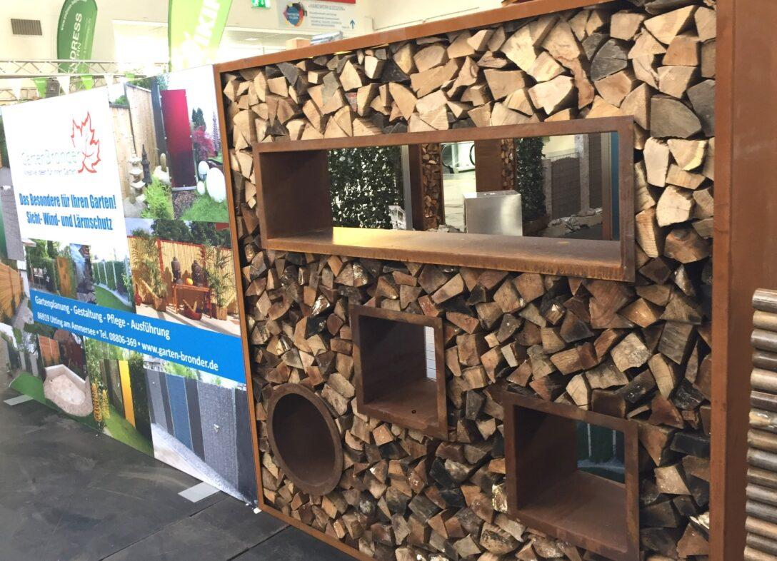 Large Size of Holzlege Cortenstahl Sichtschutz 200 X100cm Wohnzimmer Holzlege Cortenstahl
