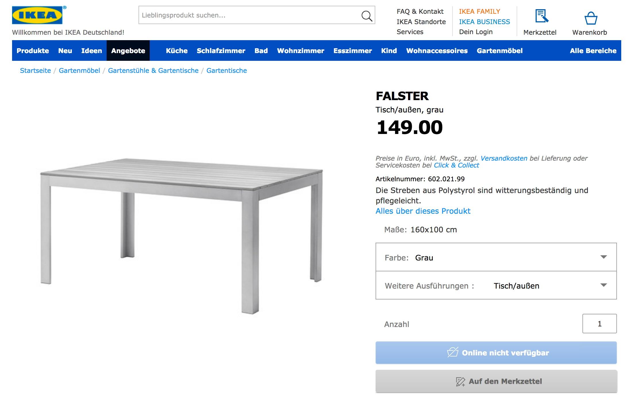 Full Size of Gartentisch Ikea Falster Hack Specialization Is For Insects Miniküche Küche Kosten Sofa Mit Schlaffunktion Betten 160x200 Modulküche Kaufen Bei Wohnzimmer Gartentisch Ikea