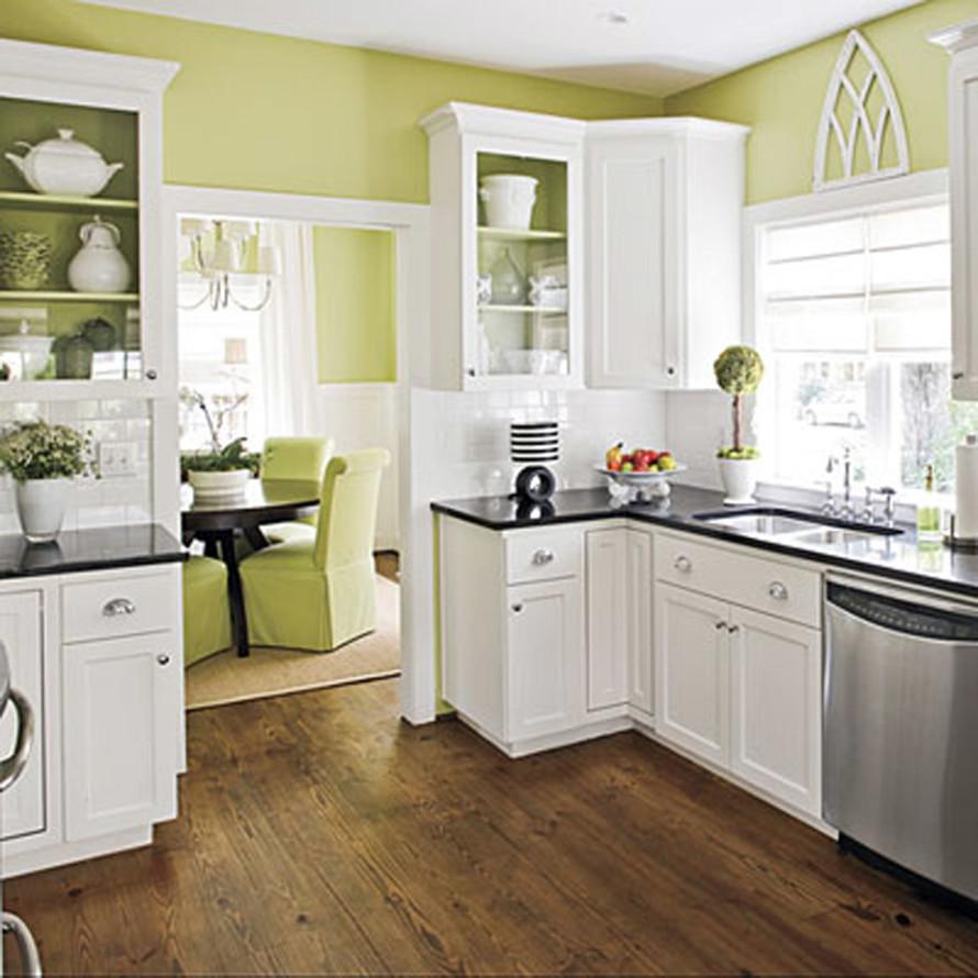 Full Size of Landhausküche Wandfarbe Kche 40 Ideen Fr Farbgestaltung Der Grau Weiß Moderne Weisse Gebraucht Wohnzimmer Landhausküche Wandfarbe