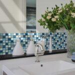 Pvc Küche Wohnzimmer Pvc Küche 10x10cmx20pcs Kristall Mosaik Wasserdicht Self Adhesive Wand Einzelschränke Jalousieschrank Raffrollo Erweitern Poco L Form Fliesenspiegel