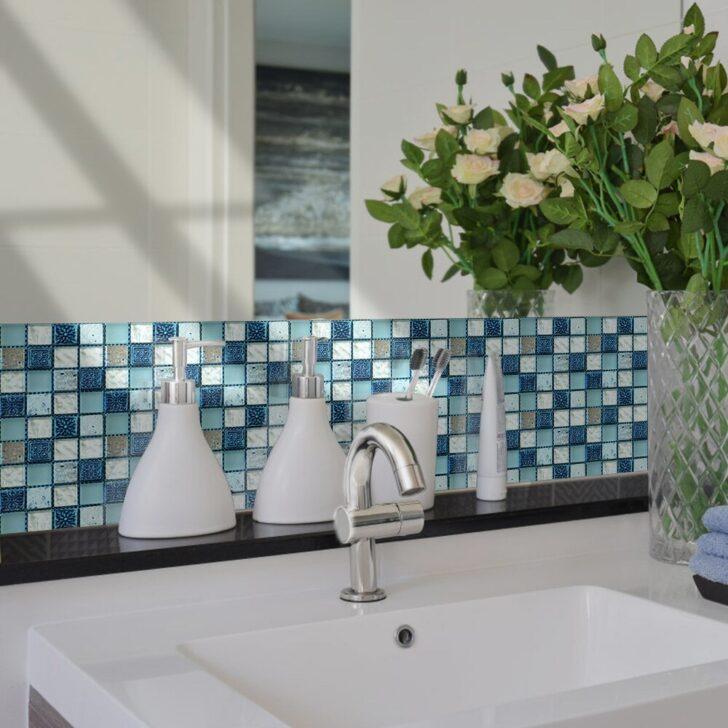 Medium Size of Pvc Küche 10x10cmx20pcs Kristall Mosaik Wasserdicht Self Adhesive Wand Einzelschränke Jalousieschrank Raffrollo Erweitern Poco L Form Fliesenspiegel Wohnzimmer Pvc Küche