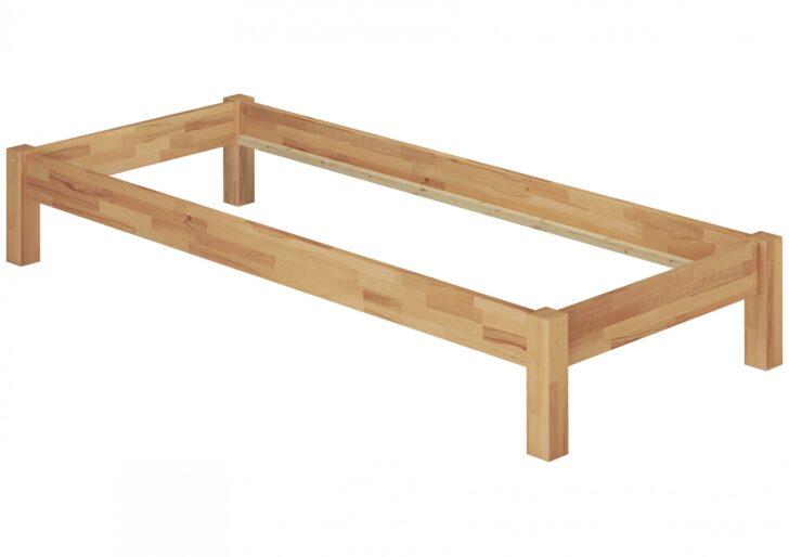 Medium Size of Futonbett 100x200 Gstebett Einzelbett 90x200 Massivholzbett Buche Natur Bett Weiß Betten Wohnzimmer Futonbett 100x200