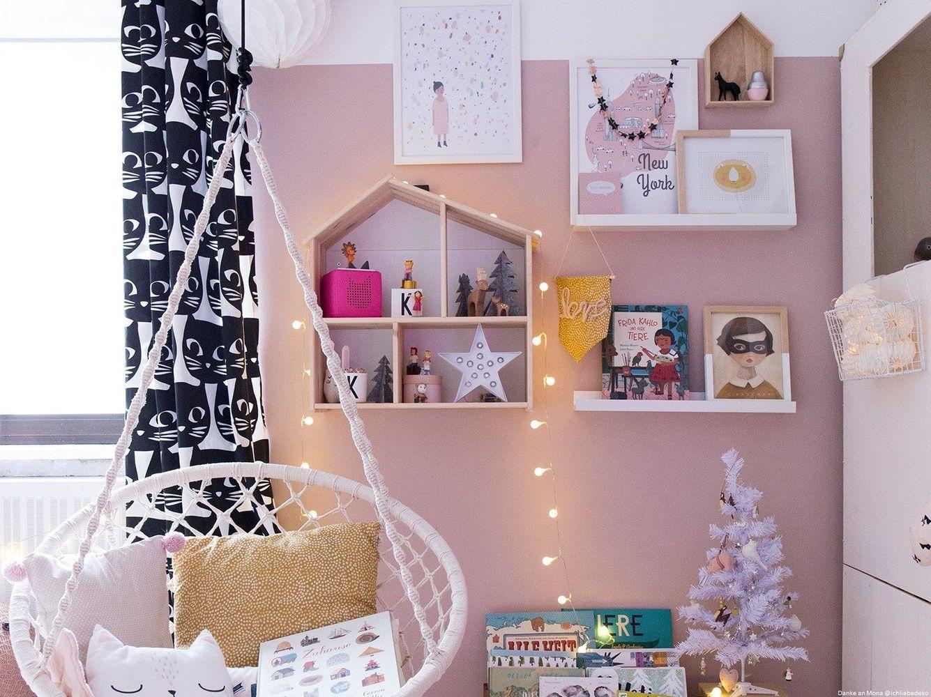 Full Size of Wandfarbe Rosa Farbfreude Kinderzimmer In Altrosa I Kolorat Küche Wohnzimmer Wandfarbe Rosa