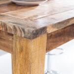 Küchen Bartisch Finebuy Stehtisch Rusti 80 110 80cm Mango Echt Holz Küche Regal Wohnzimmer Küchen Bartisch