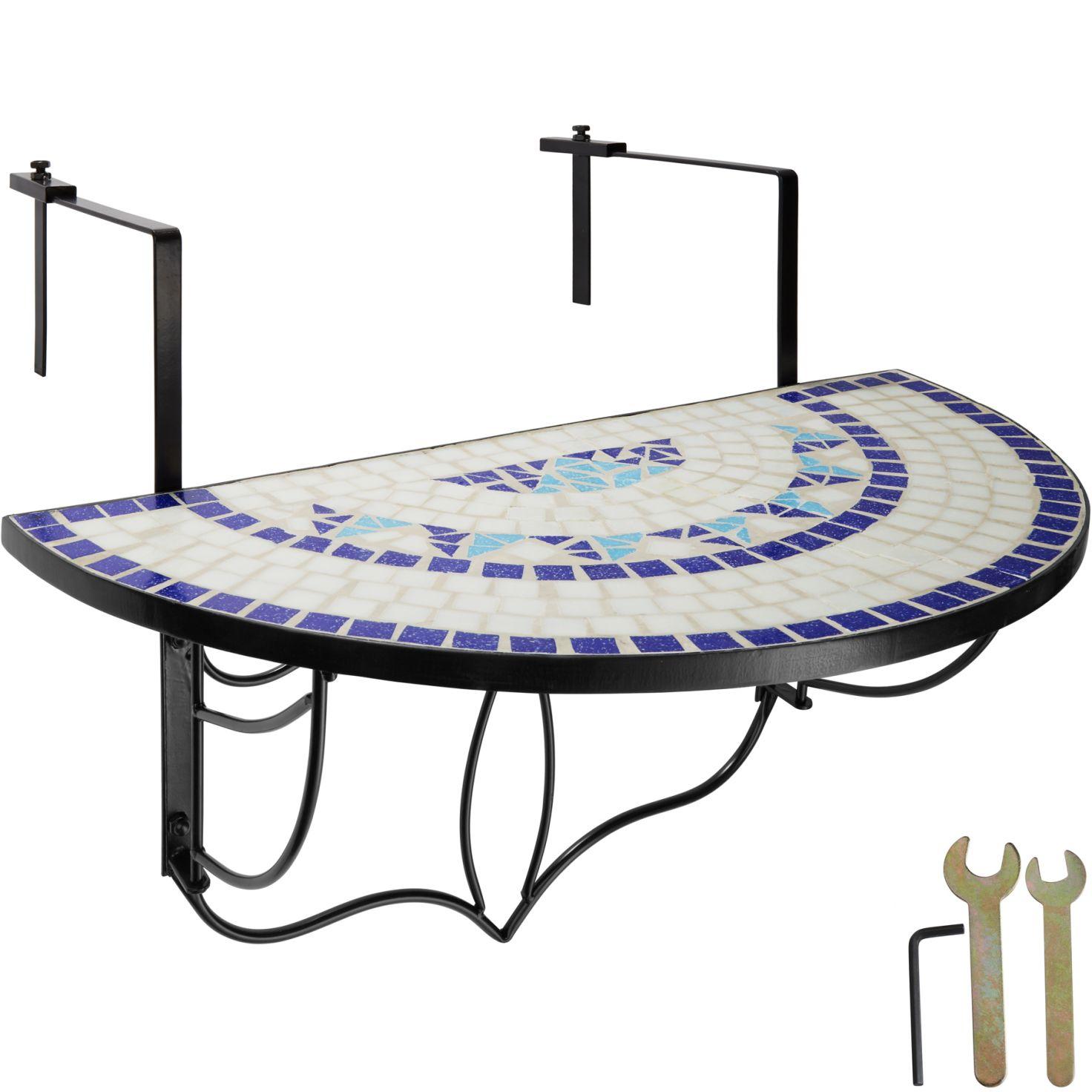 Full Size of Balkontisch Mosaik Klappbar Gnstig Online Kaufen Tectake Bett Ausklappbar Ausklappbares Wohnzimmer Balkontisch Klappbar