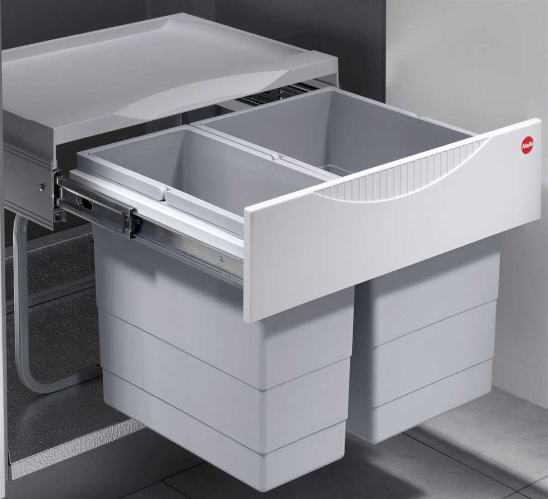Large Size of Müllsystem Mlleimer Kche 30 L Hailo Tandem Abfalleimer Real Küche Wohnzimmer Müllsystem