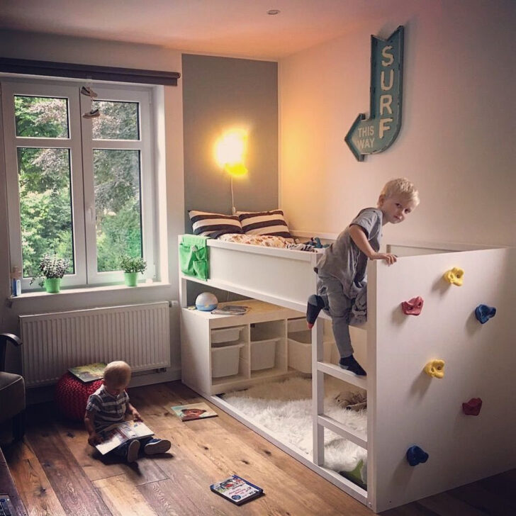 Medium Size of Kura Hack Ideas Bunk Bed Storage Hacks Pinterest Montessori Ikea Instructions Floor Drawers Stairs 36 62 Bett Verschnern Fhrung Wohnzimmer Kura Hack