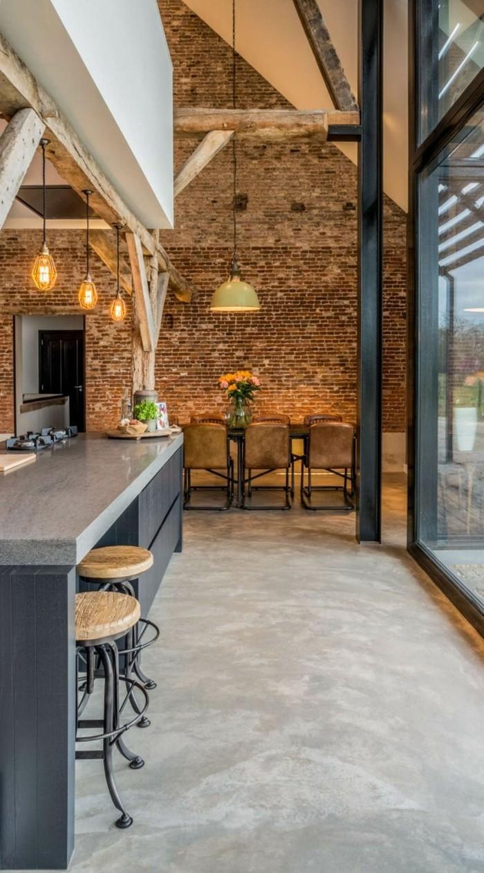 Full Size of Alternative Küchen Betonboden Im Wohnbereich Als Eine Tolle Zur Regal Sofa Alternatives Wohnzimmer Alternative Küchen