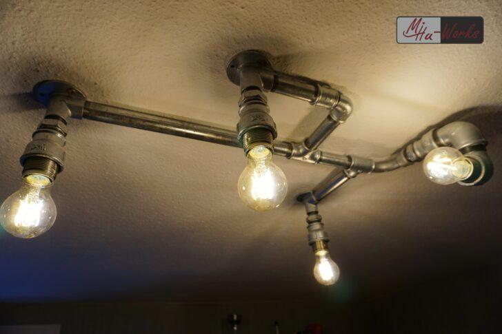 Medium Size of Deckenlampe Esstisch Industrial Wohnzimmer Deckenlampen Küche Schlafzimmer Bad Für Modern Wohnzimmer Deckenlampe Industrial