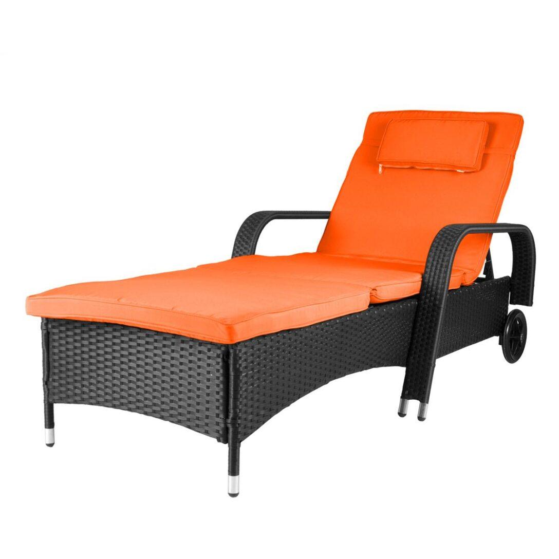 Large Size of Sonnenliege Rattan Klappbar Rattanliege Auflage Orange Poly Gartenliege Bett Sofa Garten Rattanmöbel Ausklappbares Polyrattan Ausklappbar Wohnzimmer Sonnenliege Rattan Klappbar