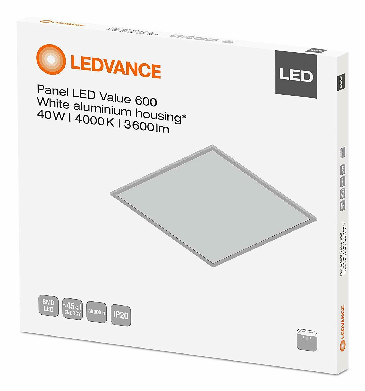 Full Size of Osram Led Panel Table Lamp Ledvance 40w 600x600   4000k Surface Mount Kit Paneli 60x60 Pdf 32w (600 X 600mm) Planon Frameless 600x600mm 600 Cool Wei Ebay Wohnzimmer Osram Led Panel
