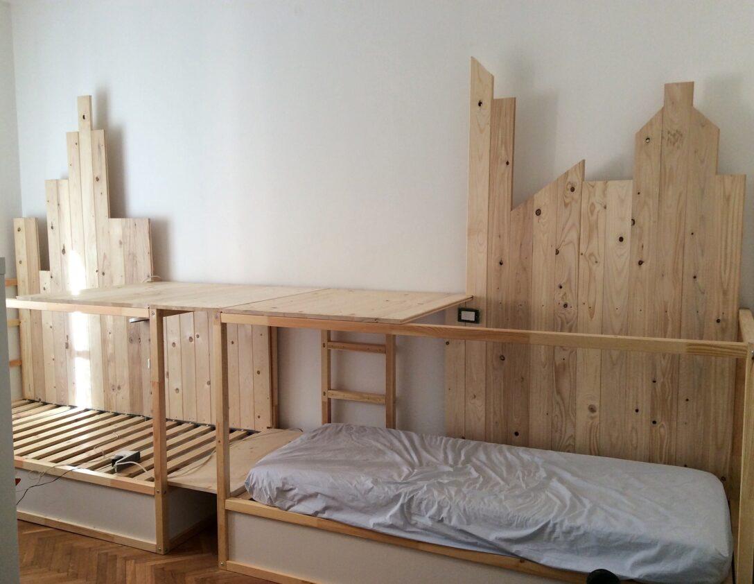 Large Size of Kura Hack Ikea Bed Montessori Stairs Double House Storage Underneath Hacks Pinterest 2 Beds Triple Bunk Mommo Design Wohnzimmer Kura Hack