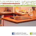 Gemauerte Küche Heimwerkerin Baut Eine Kche Youtube Landküche Abfalleimer Zusammenstellen Deko Für Ikea Miniküche Aufbewahrung Holz Modern Wohnzimmer Gemauerte Küche