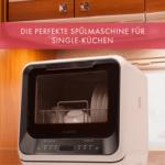 Amazonia Mini Geschirrsplmaschine 6 Programme Led Display Schwarz Miniküche Mit Kühlschrank Pool Garten Ikea Aluminium Verbundplatte Küche Fenster Stengel Wohnzimmer Mini Geschirrspüler
