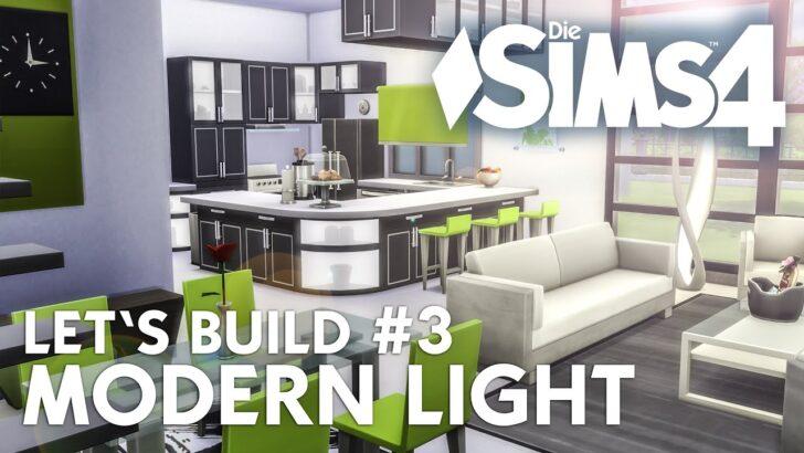 Medium Size of Küche Ideen Modern Sims 4 Lets Build Light 3 Haus Bauen Kche Buche Wasserhahn Für Günstig Kaufen Wandverkleidung Eckunterschrank Werkbank Müllsystem Wohnzimmer Küche Ideen Modern