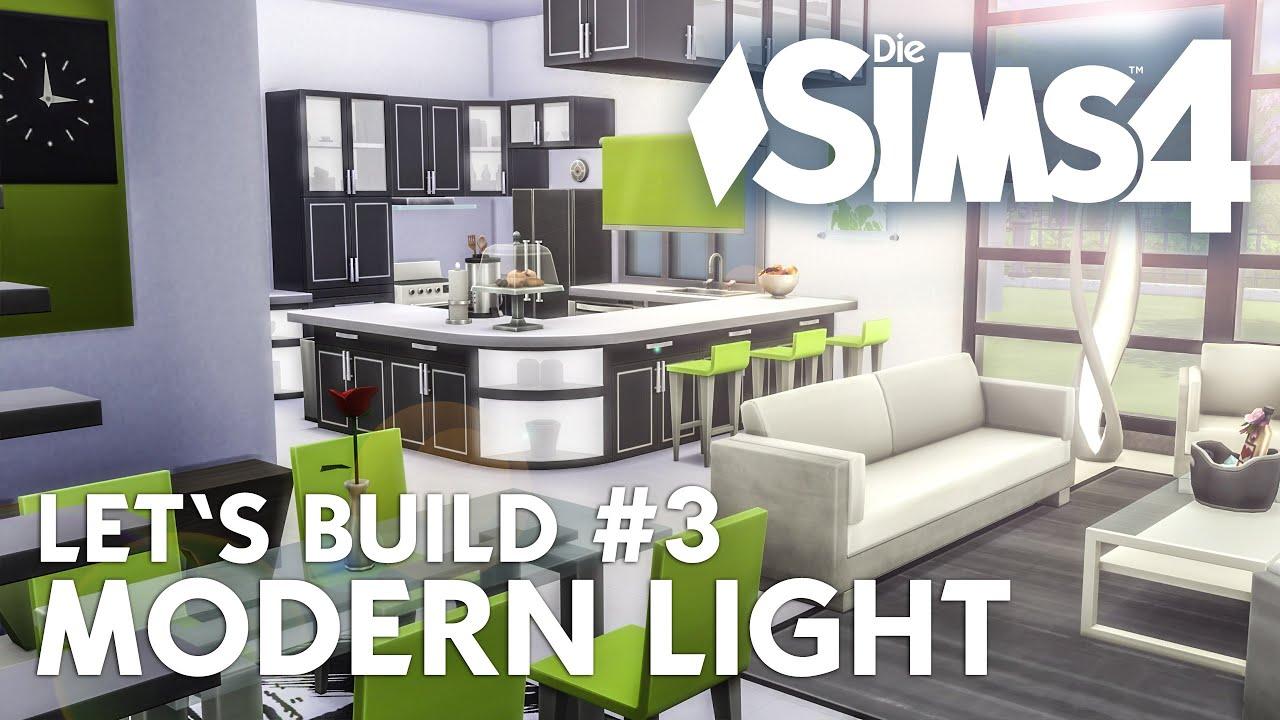 Full Size of Küche Ideen Modern Sims 4 Lets Build Light 3 Haus Bauen Kche Buche Wasserhahn Für Günstig Kaufen Wandverkleidung Eckunterschrank Werkbank Müllsystem Wohnzimmer Küche Ideen Modern