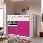 Mädchenbetten Rosa Pink Spanplatte Schreibtische Online Kaufen Mbel Wohnzimmer Mädchenbetten