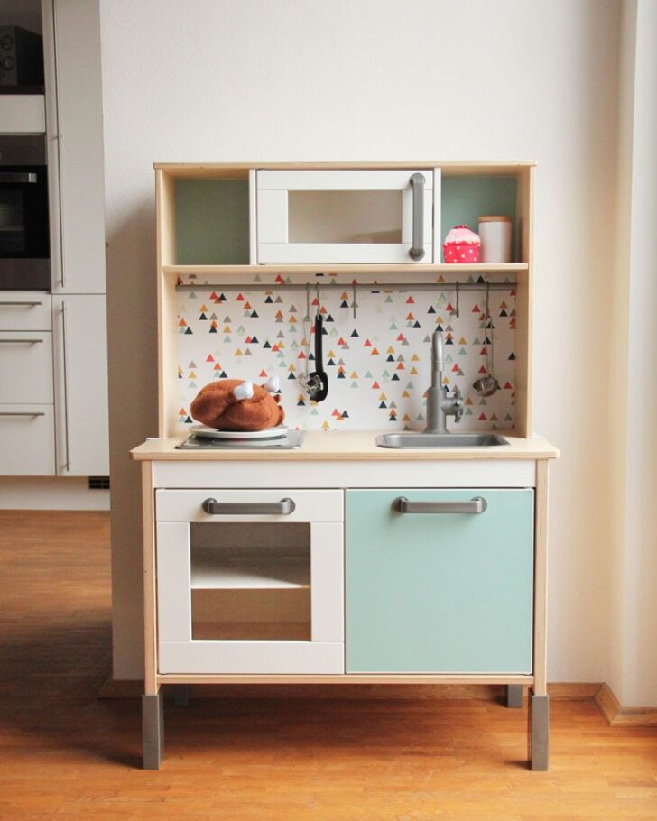 Medium Size of Küche Gebraucht Ikea Kinderkche Kaufen Und Aufwerten Hängeregal Ohne Hängeschränke Lüftung Einbauküche Weiss Hochglanz Elektrogeräte Vorhänge Blende Wohnzimmer Küche Gebraucht