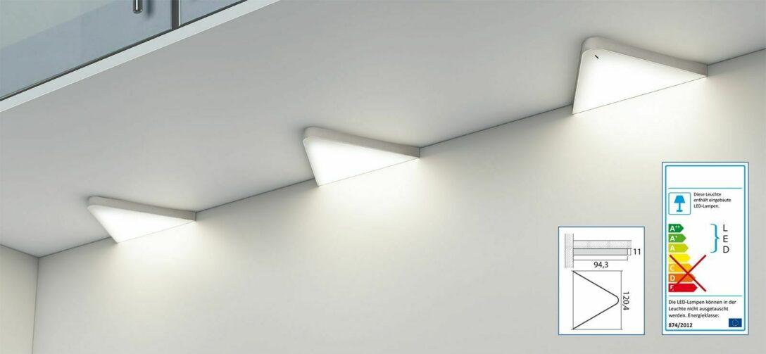Large Size of Unterbauleuchten Küche Flchen Led Dreiecklampe Unterbauleuchte Kche 2x5 W Helligkeit Deckenleuchten Anthrazit Holzbrett Holz Weiß Ikea Kosten Betonoptik Wohnzimmer Unterbauleuchten Küche