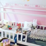 Diy Hausbett Fr Wohnzimmer Kinderbett Diy