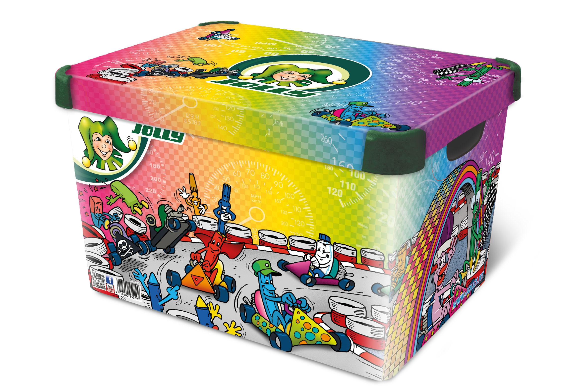 Full Size of Aufbewahrungsbox Kinderzimmer Jolly Aufbewahrungsbokartrennen Incl Deckel Regal Garten Sofa Weiß Regale Wohnzimmer Aufbewahrungsbox Kinderzimmer