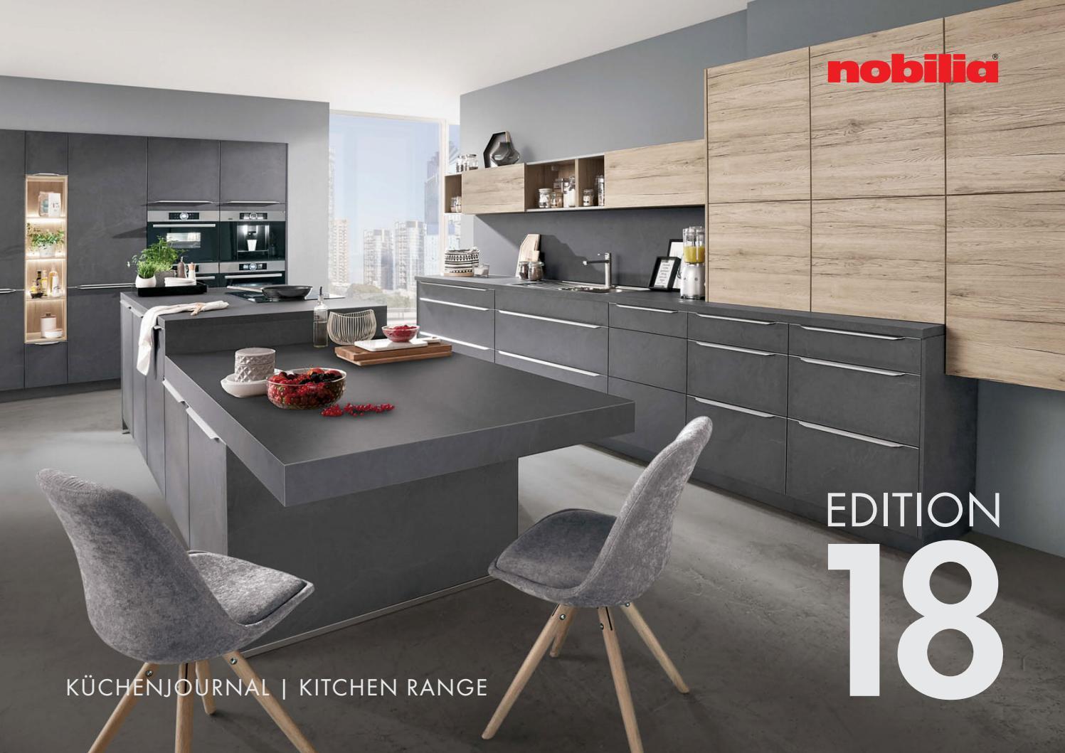 Full Size of Nobilia Eckschrank Katalog 2017 2018 By Perspektive Werbeagentur Küche Schlafzimmer Einbauküche Bad Wohnzimmer Nobilia Eckschrank